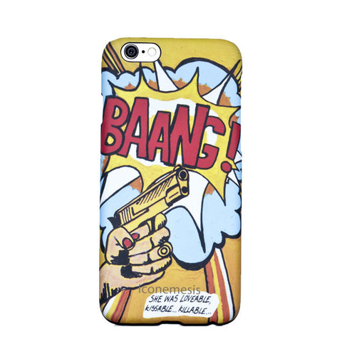 Boyarde Messenger Pop Art Case for iPhone 6s / 6, Bang