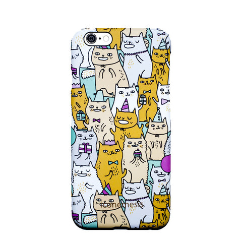 Gemma Correll Cats Case for iPhone 6s Plus / 6 Plus, Kitty