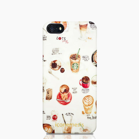Lily X Coffee Case for iPhone 5/5s & SE