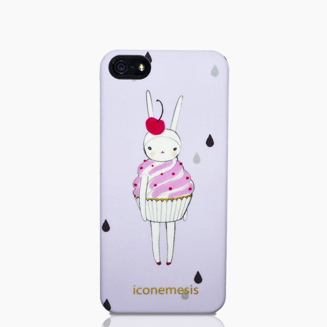 Fifi Lapin Bunny Case for iPhone 5S & SE, Cupcake