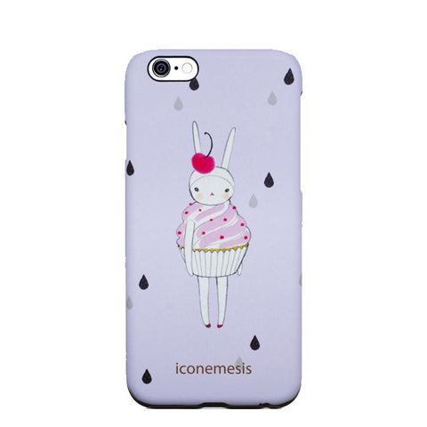 Fifi Lapin Bunny Case for iPhone 6s / 6, Cupcake