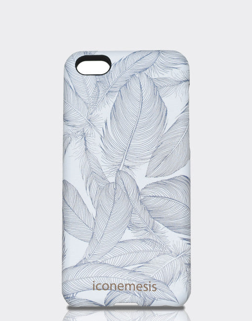 iPhone 5c Case Feathers Designed by Cat Sims