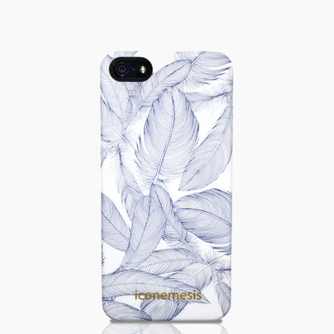 Cat Sims Feathers iPhone 5s & SE Case