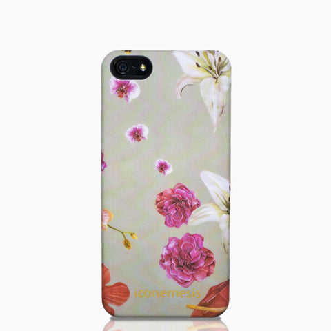 Sacha Kreeger Floral Print Case for iPhone 5/5S & SE