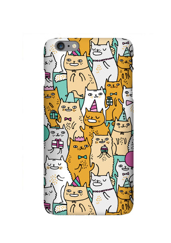 Gemma Correll Cats Case for iPhone 7 Plus, Kitty