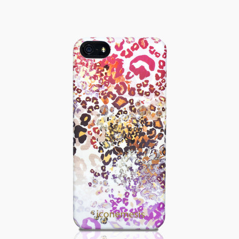 Leopard Print Case for iPhone 5/5s & SE – by Sacha Kreeger