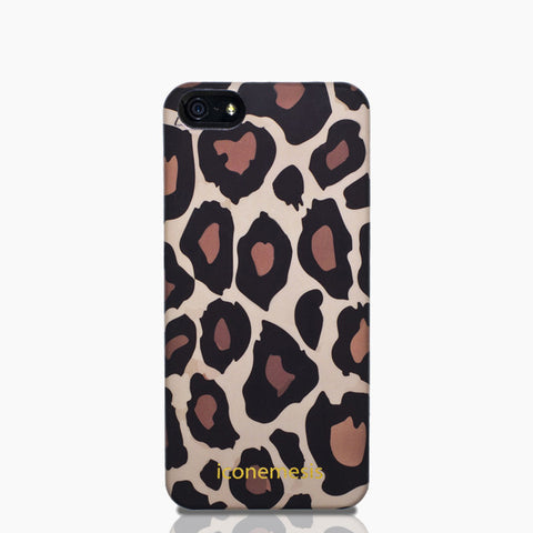 Leopard Print Case for iPhone 5/5s & SE
