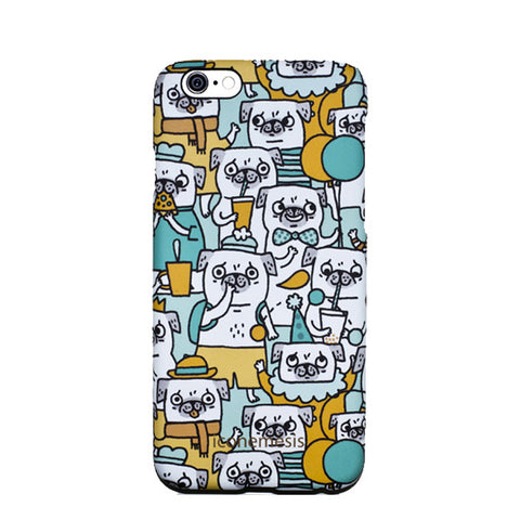 Gemma Correll Pugs Case for iPhone 6s Plus / 6 Plus, Dogs