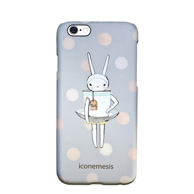 Fifi Lapin Bunny Case for iPhone 6s Plus / 6 Plus, Teacup