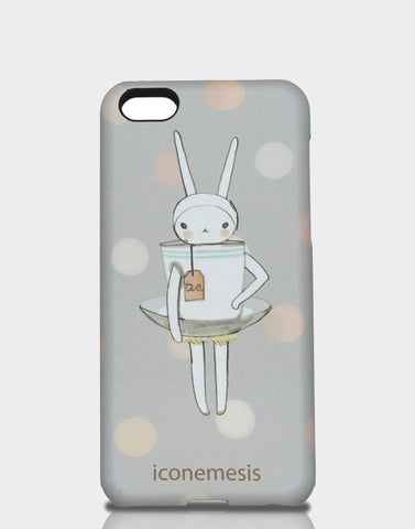 Fifi Lapin Bunny Case for iPhone 5c, Rabbit Teacup