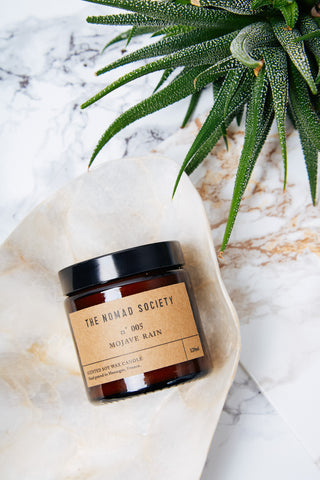 Mojave Rain by The Nomad Society handpoured wax candle Hossegor