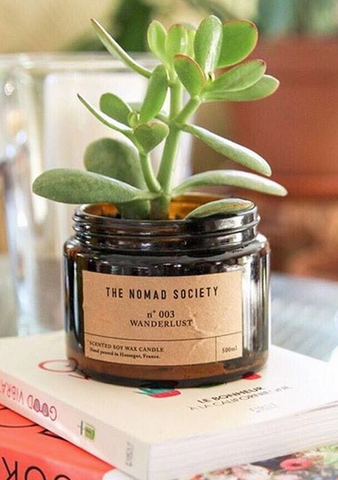 Sunriseneverends Nomad Society Candle