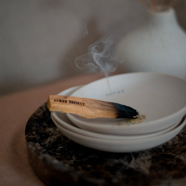 CERAMIC RITUAL INCENSE BOWL