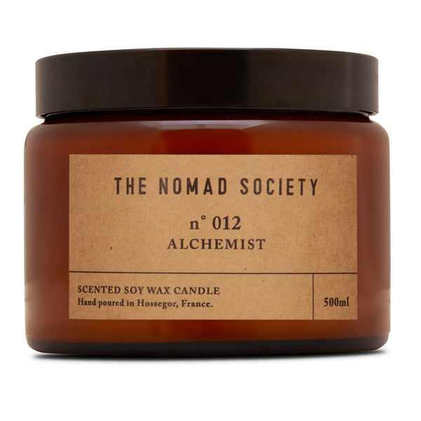 Alchemist small batch hand poured soy wax vegan candle by The Nomad Society