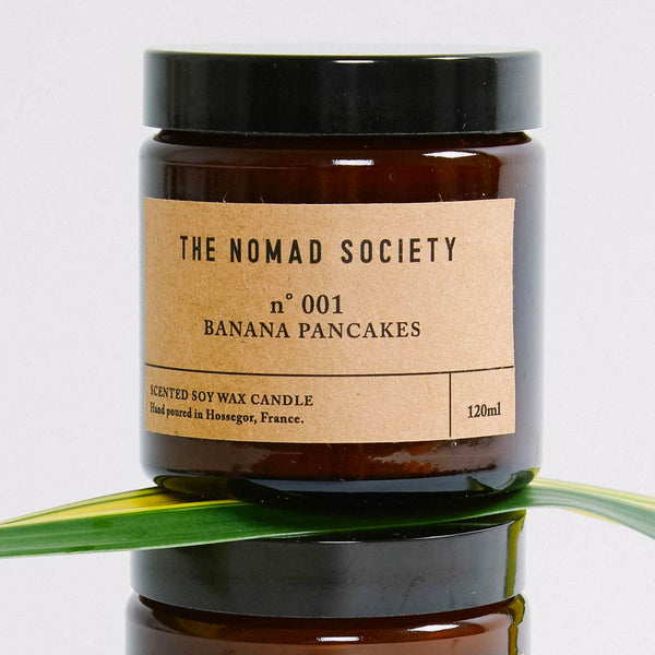 Banana Pancakes soy wax candle The Nomad Society