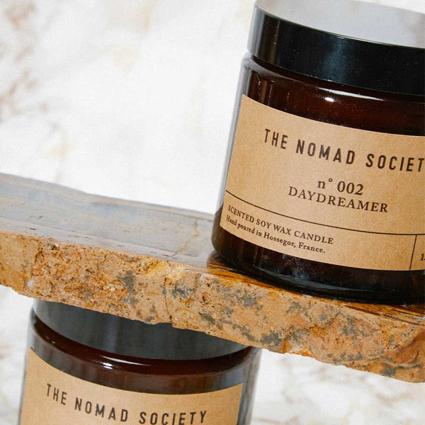 Daydreamer coconut vegan candle The Nomad Society 120ml