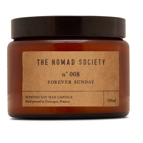 Forever Sunday soy wax candle 500ml The Nomad Society