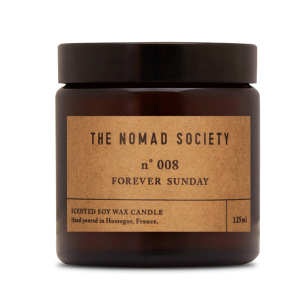 Forever Sunday soy wax candle 120ml The Nomad Society