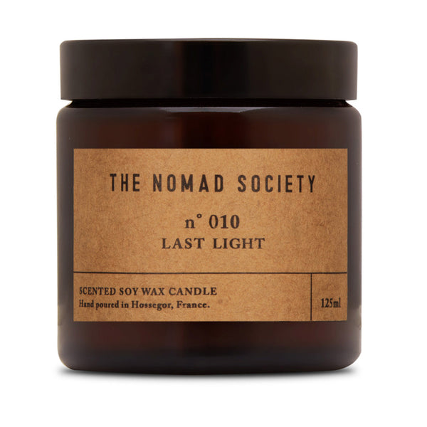 Last Light black pepper soy wax vegan candle The Nomad Society