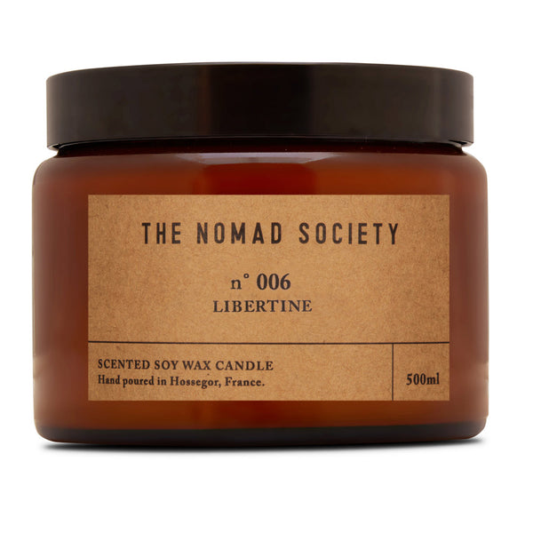 LIBERTINE Scented Soy Candle - 500ml