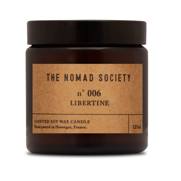 Libertine Fig Soy Wax candle The Nomad Society