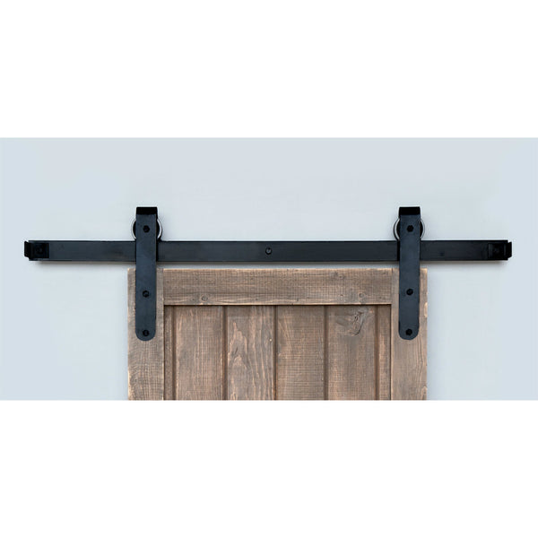 Acorn Sliding Barn Door Hardware Kit -Smooth Round End | Barnware Doors
