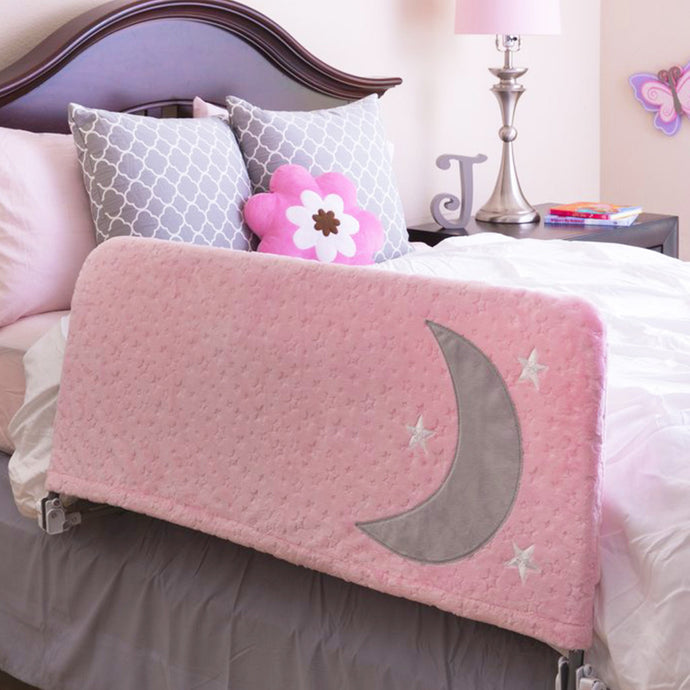 The Sweet Dreams Toddler Bed Rail, Pink