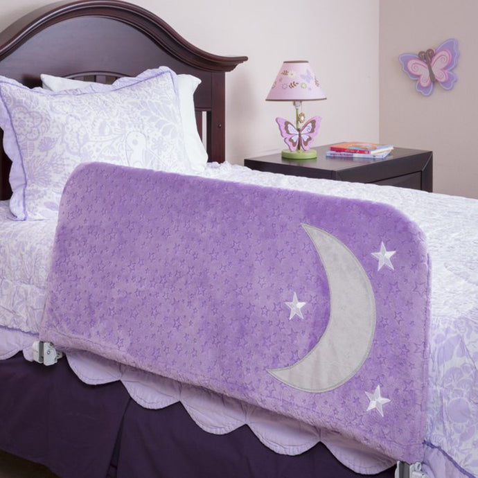 The Sweet Dreams Toddler Bed Rail, Lavender
