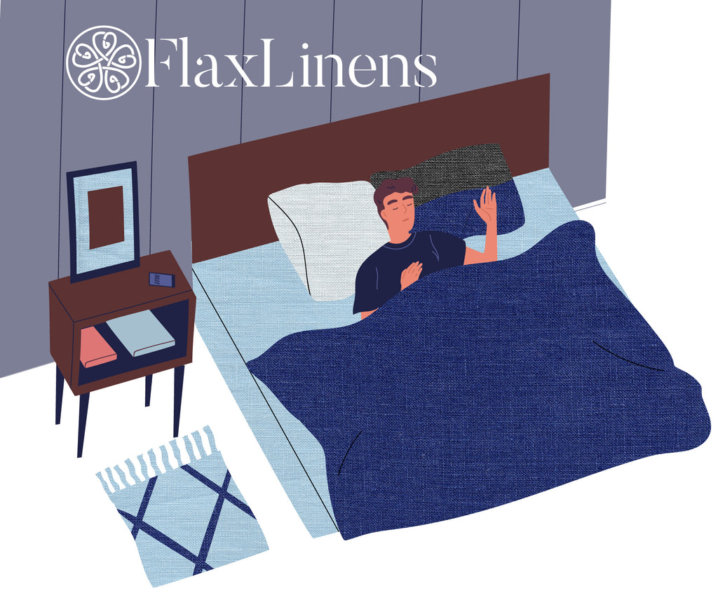 Flax-Linen-Sleep-Health-Comfy-Bed