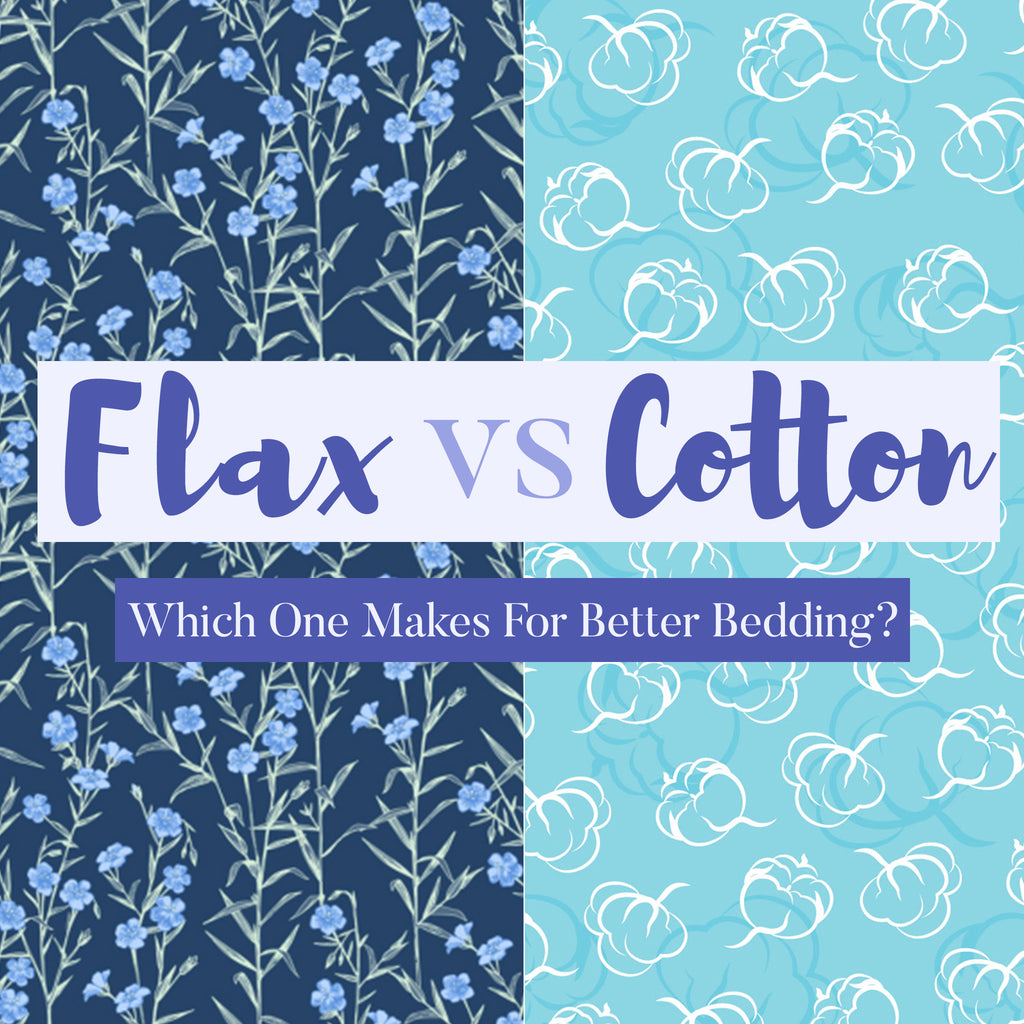 Flax Linen vs Cotton - Which One Makes For Better Bedding?