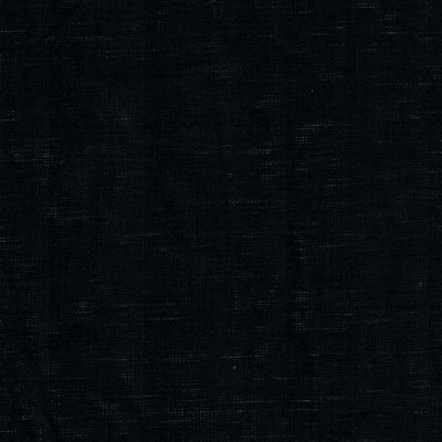 Belgian Linen Bedskirt Short Or Long Ruffled Flouncing In 12 Colors - Queen / Midnight Black