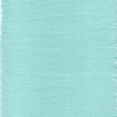 Belgian Linen Simple Sheets 4 Piece Set In 12 Colors All Sizes - Twin / Tiffany Blue