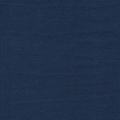 Single Organic Belgian Linen Stonewashed Fitted Sheet In 12 Colors - Navy Blue / King