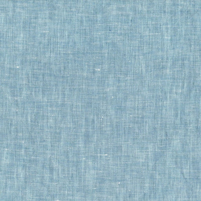 Solid Chambray Linen 4 Piece Sheets Set In 11 Colors - Twin / Fargo Horizon