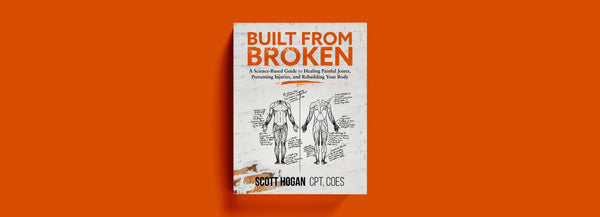 Built from Broken book and injury recovery supplements