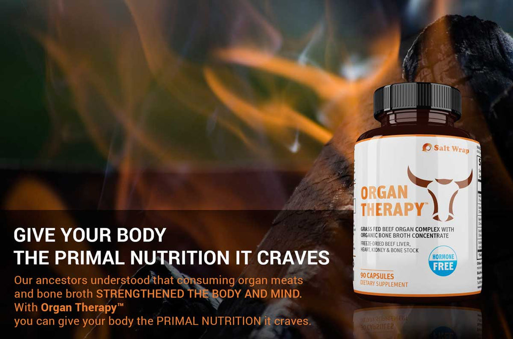 Organ Therapy Best Grass Fed Beef Liver Supplement