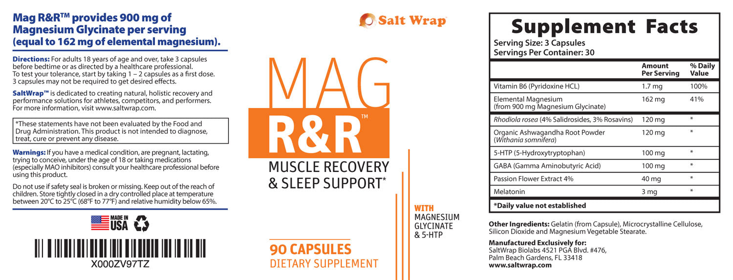 Mag R&R ingredients and directions