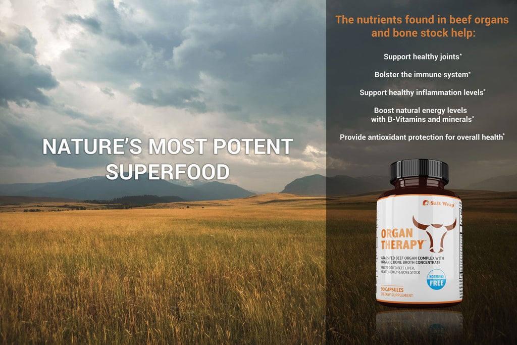 Beef Organ Supplement Superfood Capsules