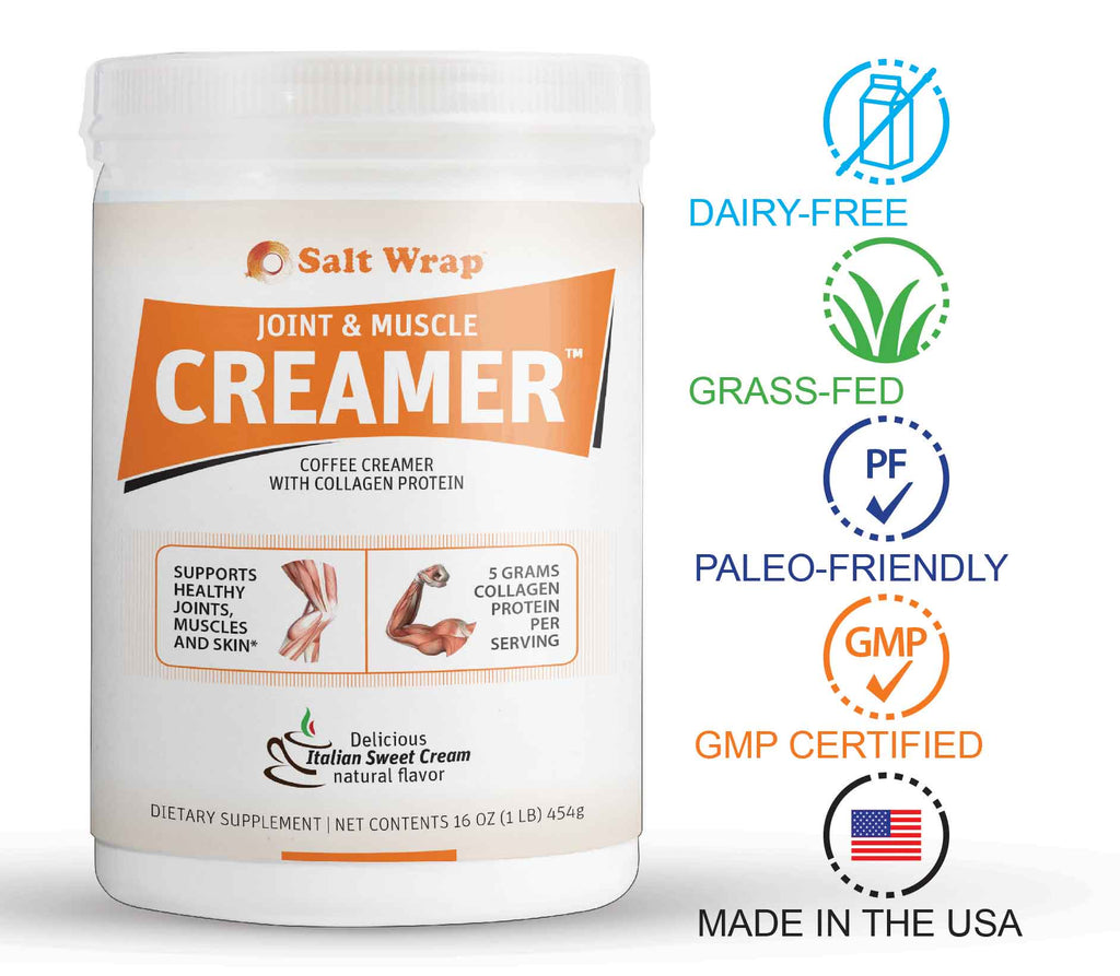 Dairy-Free Paleo-Friendly Creamer with Collagen and MCT's