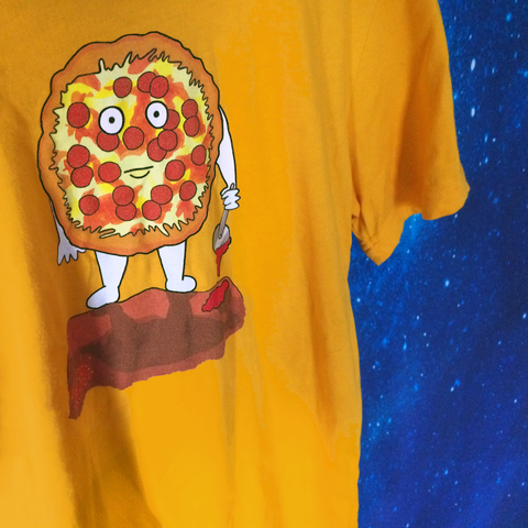 killer pizza tee space