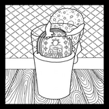 Severe Snacks Coloring Book - Severe Snacks