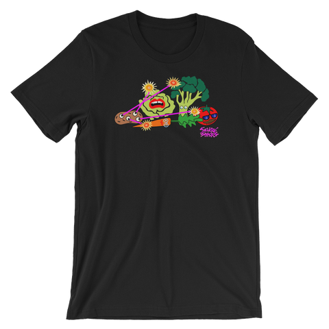 Scifi Veggies Tee - Severe Snacks