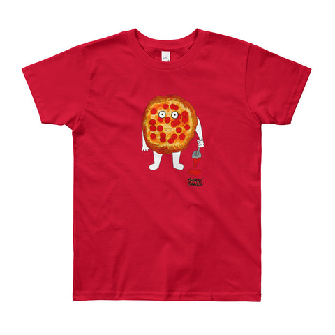 Killer Pizza Youth Tee - Severe Snacks