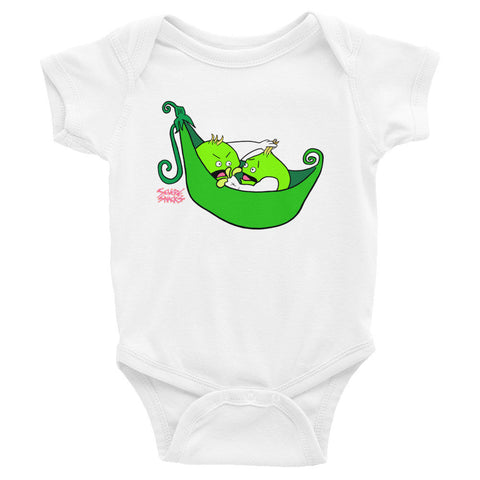 Peas in a Pod Onesie - Severe Snacks