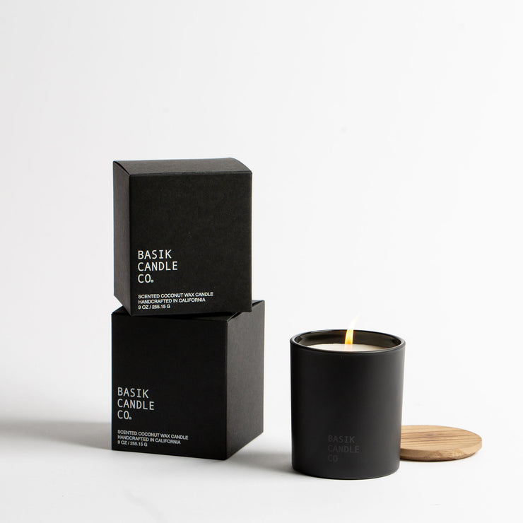 No. 4 Blood Orange + Bergamot Candle