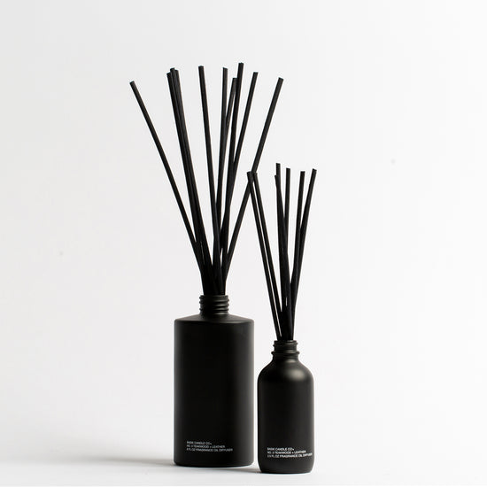 No. 3 Teakwood + Leather Reed Diffuser