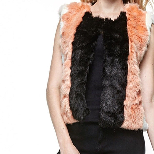 Fur Fox Sake Faux Fur Vest