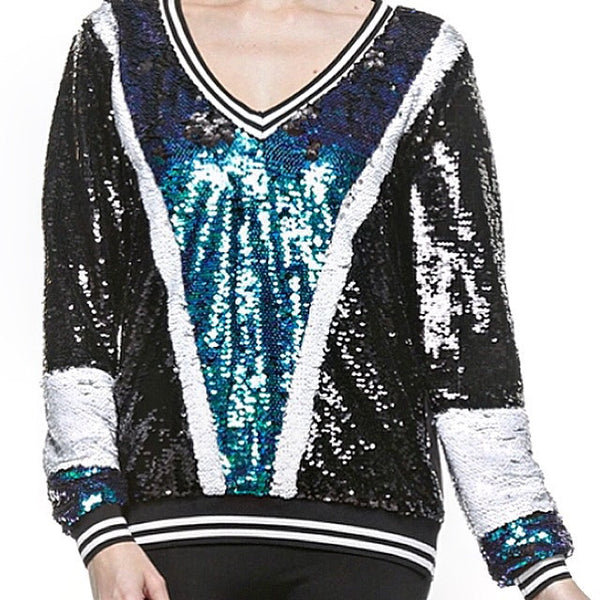 Always be Extra Sequin Top