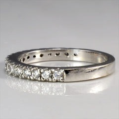 Spence Diamonds Semi Eternity Band | 0.30 ctw, SZ 4.75 |