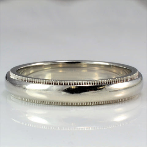 Milgrain Tiffany & Co. Wedding Band | SZ 9.75 |
